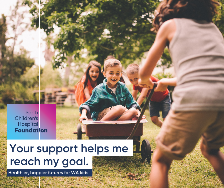 Your support helps me reach my goal